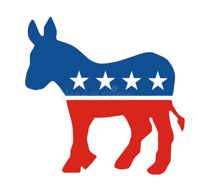 Democratische Partijezel vector illustratie