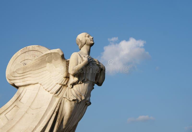 Democrazia - statua alla stazione del sindacato nel lavaggio immagine stock libera da diritti