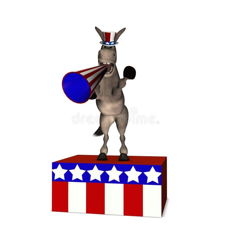 demokraci soapbox ilustracji