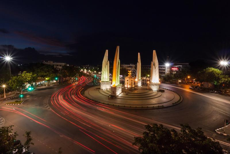 Demokratie-Monument lizenzfreie stockfotografie
