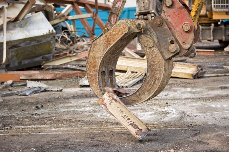 Demolição fotografia de stock