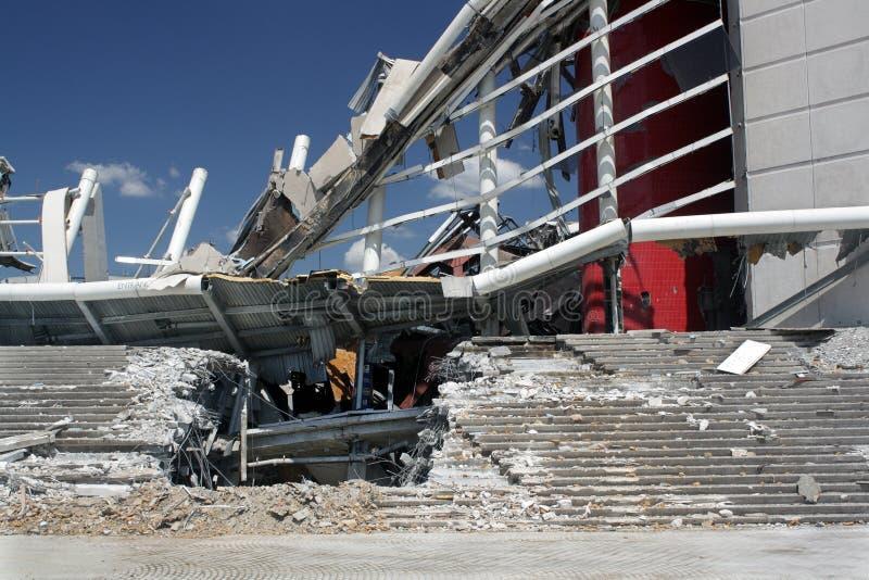 Demolição da arena de Orlando Amway (2) imagens de stock royalty free