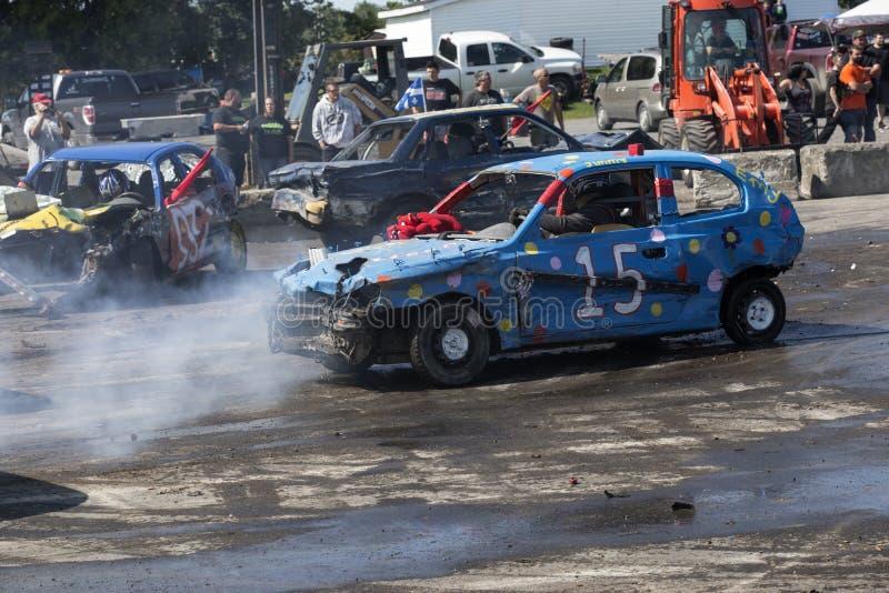 Demolição Derby foto de stock royalty free