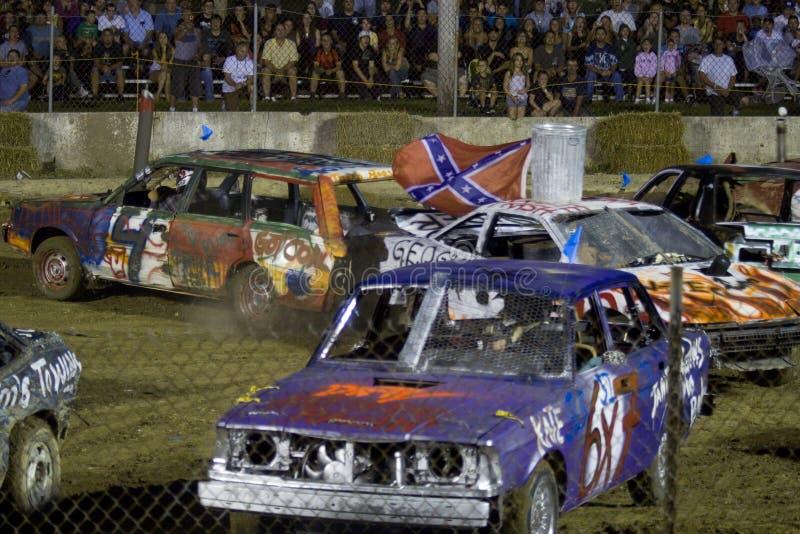 Demolição Derby fotografia de stock royalty free