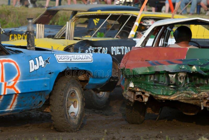 Demolição Derby imagem de stock royalty free