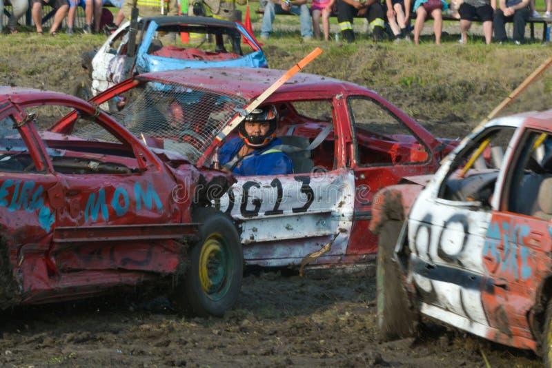 Demolição Derby imagens de stock royalty free