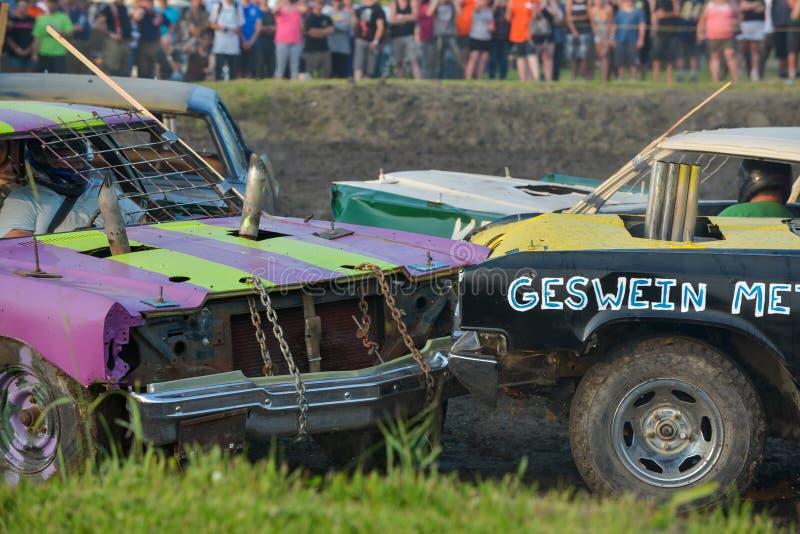 Demolição Derby imagens de stock