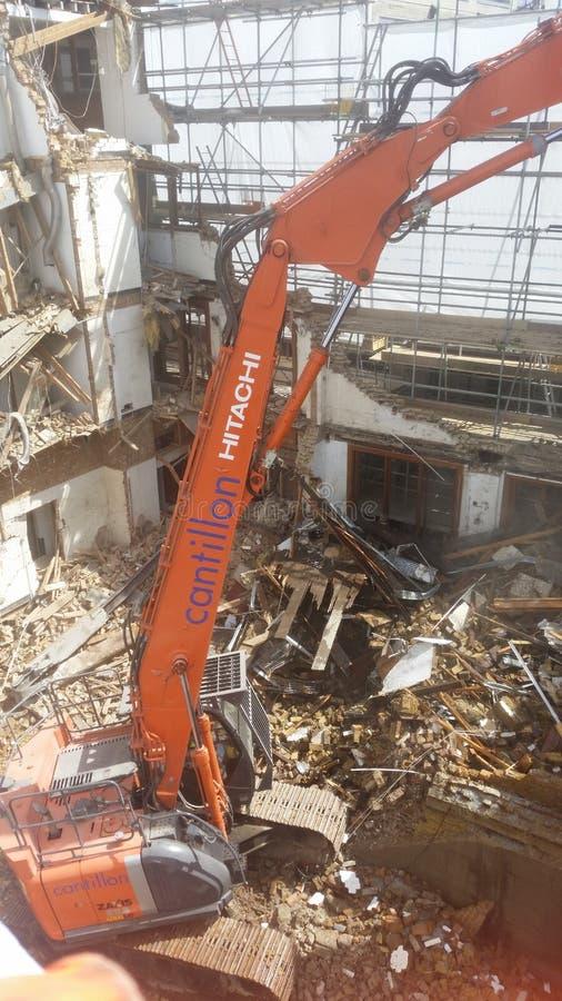 Demolición de Londres fotografía de archivo libre de regalías