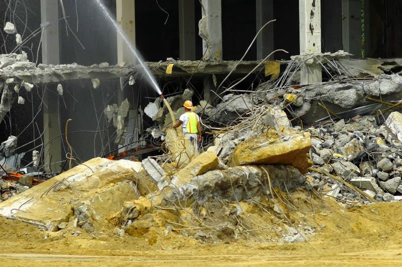 Demolierung stockbild