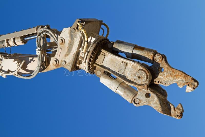 Demolierunghilfsmittel. stockbild