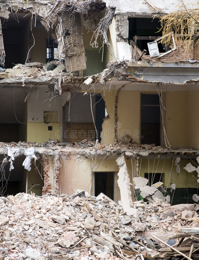 Free Demolished Building Royalty Free Stock Images - 8504569