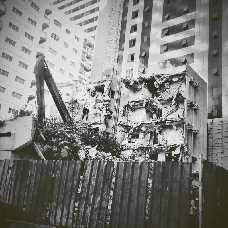 Demolished stock photography