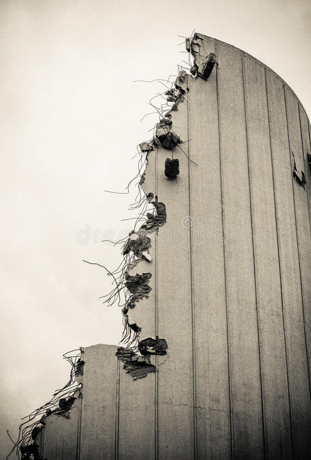 Download Demolished Building stock photo. Image of construction - 49371768