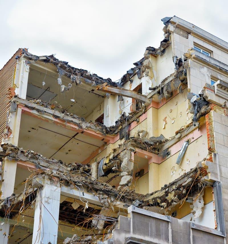Download Demolishing of old house stock photo. Image of abandoned - 34951092