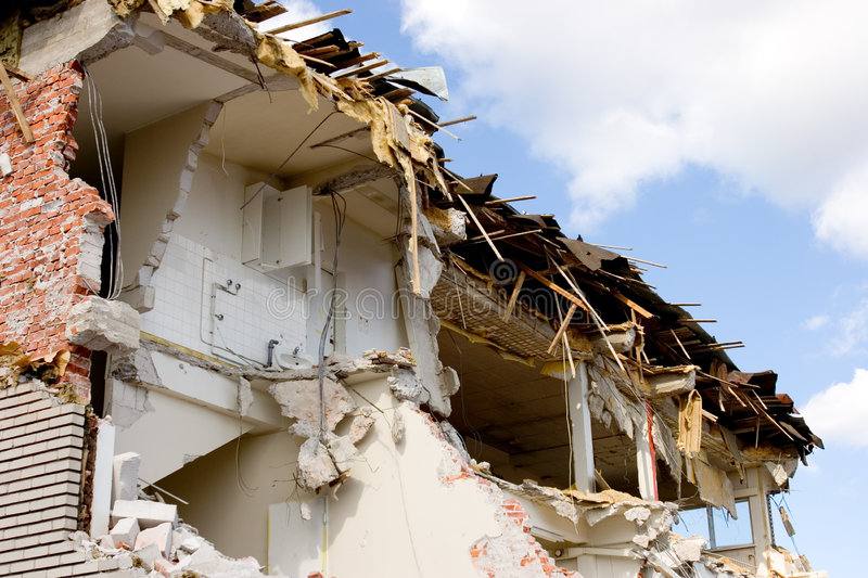 Download Demolition Royalty Free Stock Image - Image: 1155746