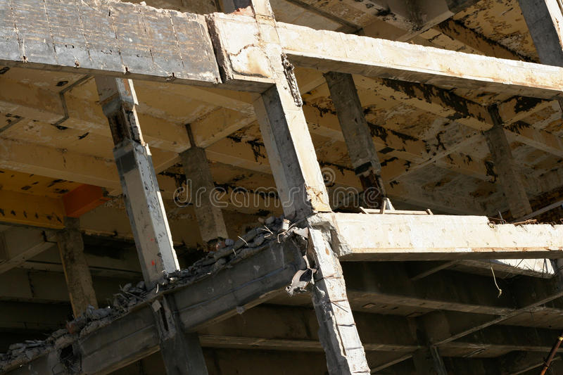 Download Demolition stock photo. Image of destroyed, tearing, urban - 17900826