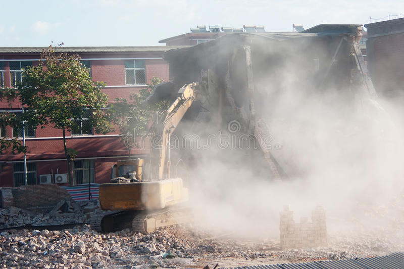 Download Demolition stock photo. Image of site, scoop, demolition - 23472652