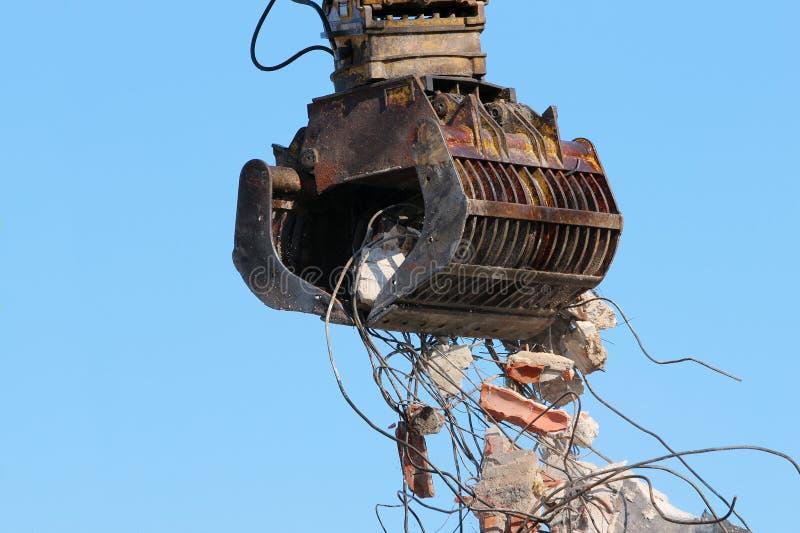 Download Demolition crane stock photo. Image of demolish, demolishing - 25821372