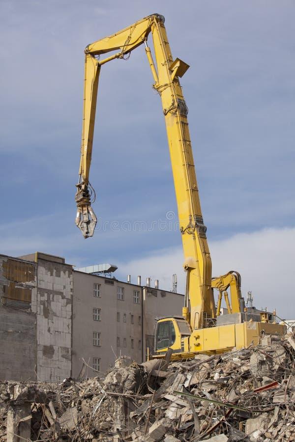 Demolition Machine Stock Photography