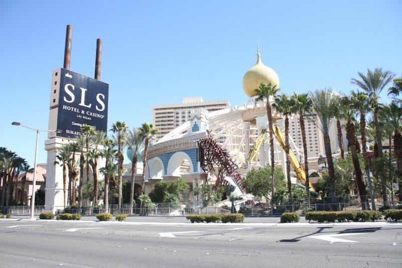 Demolition Of The Sahara Casino Las Vegas Nevada Editorial Stock Photo Image Of Gamble Casinos 118750163