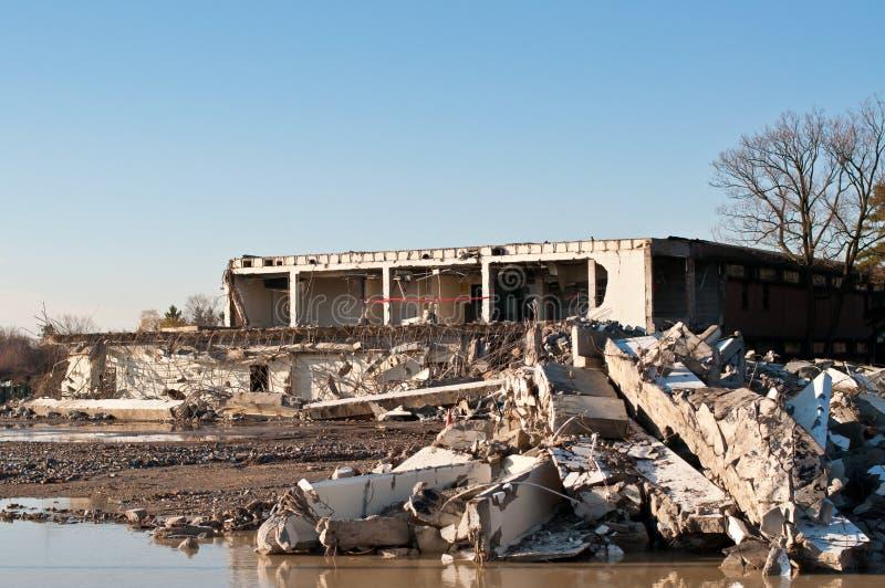 Demolition Site royalty free stock photo