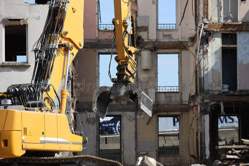 Download Demolition site stock photo. Image of ruin, estate, audience - 18238232