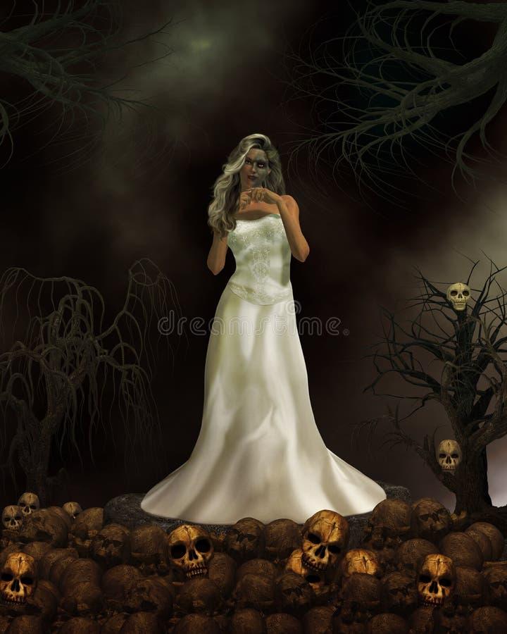 Demon Bride Royalty Free Stock Image