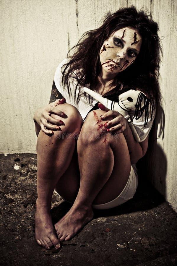 demon dziewczyna obrazy stock