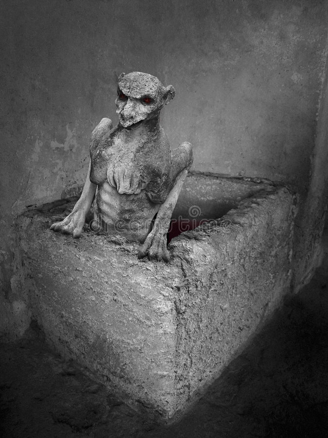 demon gothic fotografia royalty free