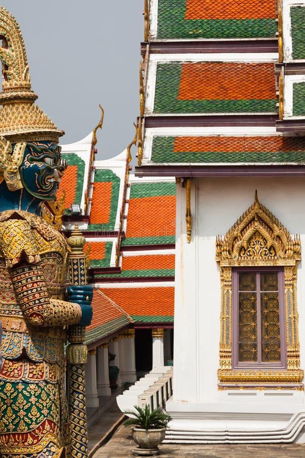 Free Demon Guardian In Wat Phra Kaew Grand Palace Bangkok Royalty Free Stock Images - 50577079