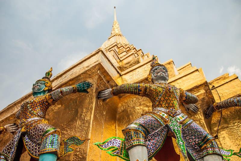 Download Demon Statues At Wat Phra Kaew In Grand Palace, Bangkok Stock Image - Image: 34419799