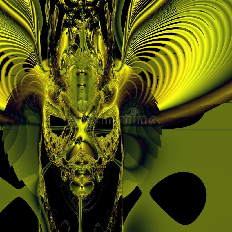 demon twarz ilustracja wektor