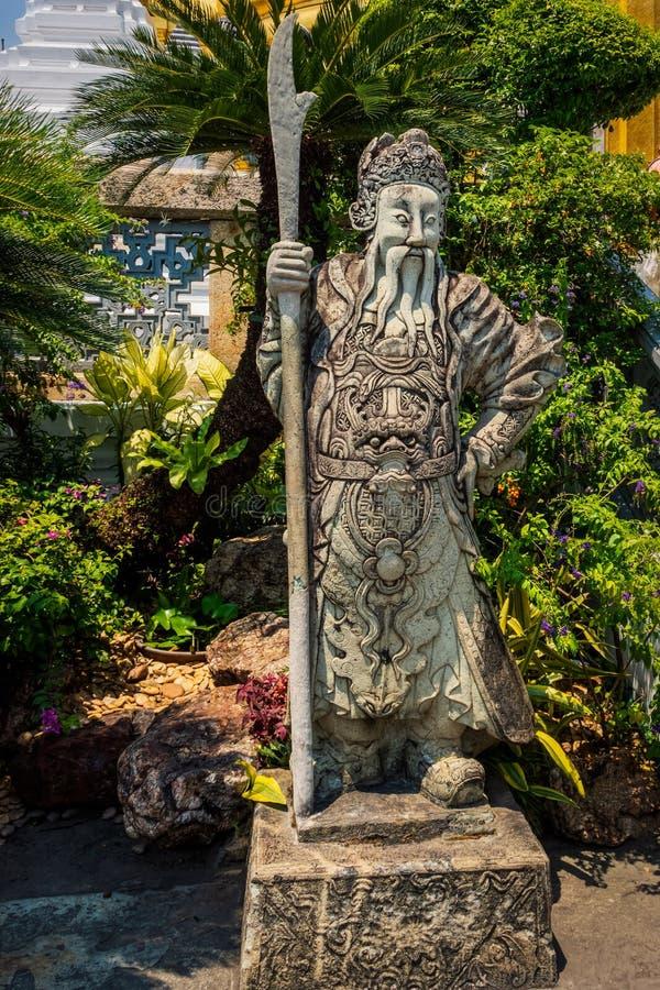 Demonf?rmyndare p? Wat Phra Kaew Grand Palace arkivbild