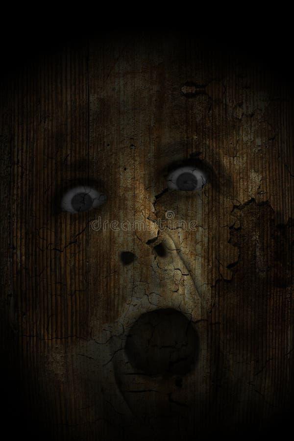 Demonic уродская сторона стоковая фотография rf