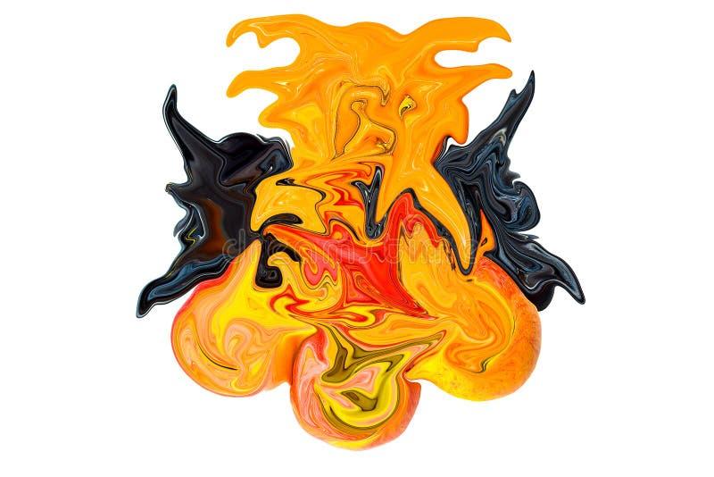 Demonic anioł abstrakcja obraz stock