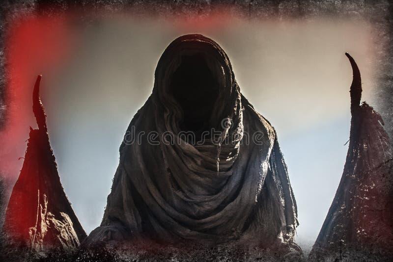 Demonisk bild royaltyfri bild