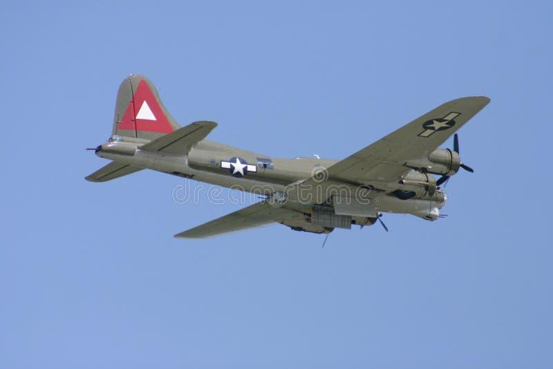 Demonstração aérea do bombardeiro fotografia de stock royalty free
