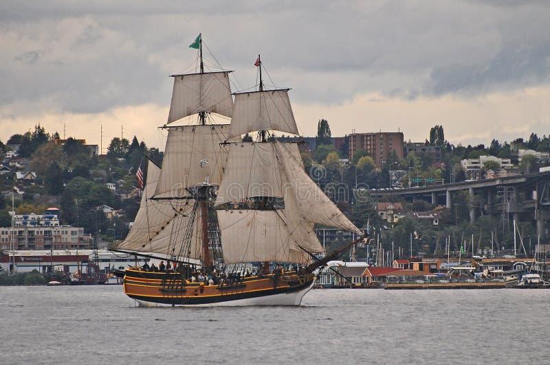 Demonstração alta do navio imagens de stock royalty free