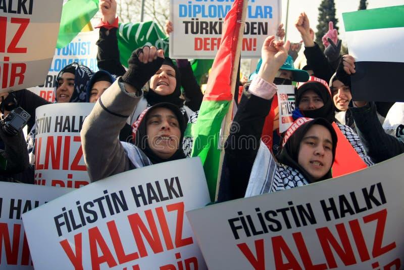 Demonstração pacífica foto de stock
