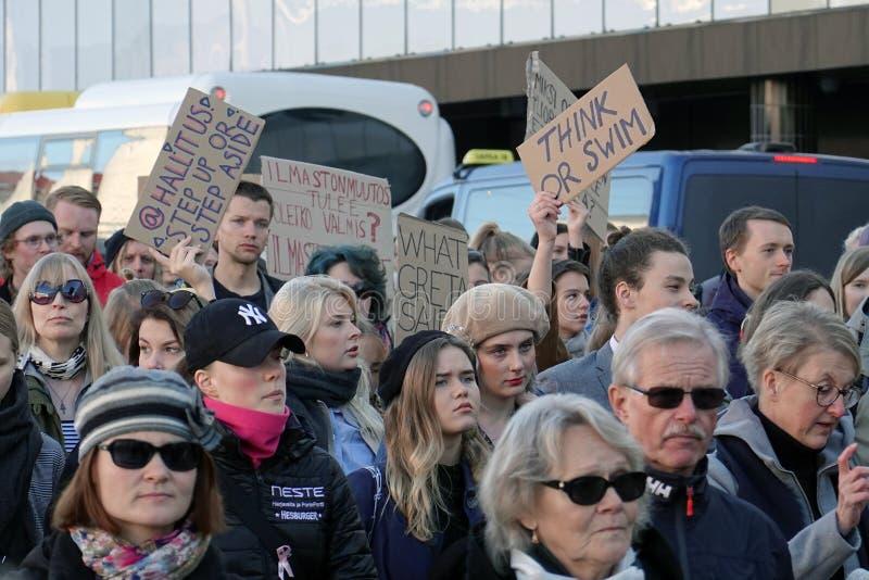 Demonstracje i sygnały klimatyczne zdjęcie royalty free