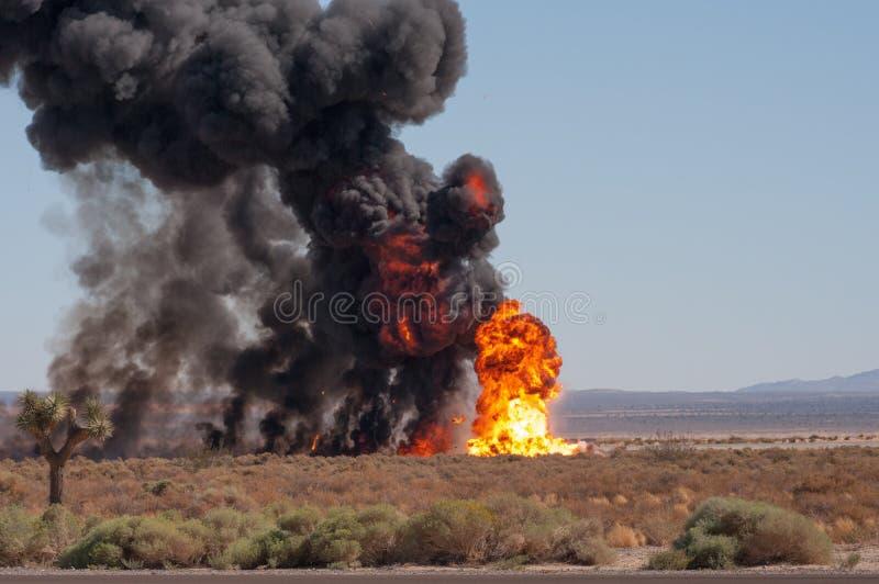 Demonstracyjne show bombowe zdjęcie royalty free