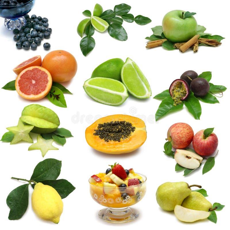 Demonstrador da fruta imagens de stock
