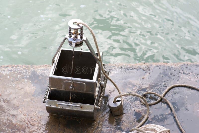 Demonstrador da garra fotografia de stock