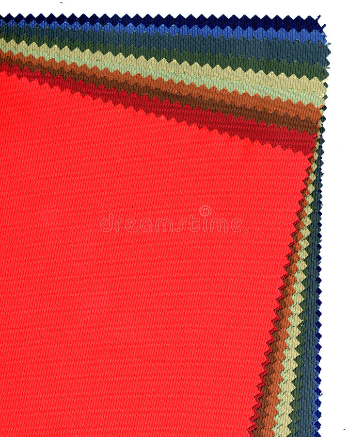 Demonstrador de matéria têxtil imagem de stock royalty free