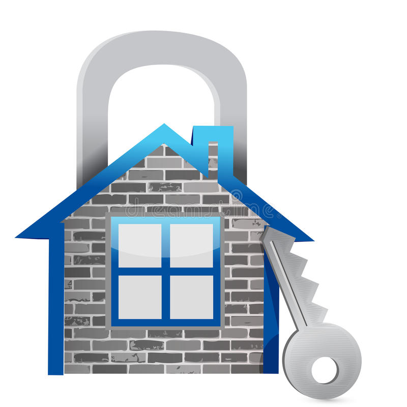 Download Demonstrating Home Security Stock Illustration - Image: 28956400
