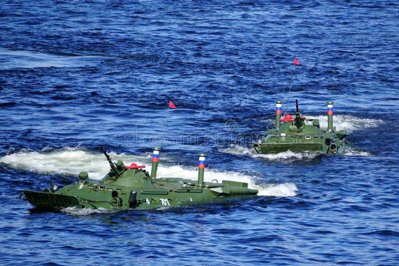 Demonstration av anfall från slagskeppet arkivfoton