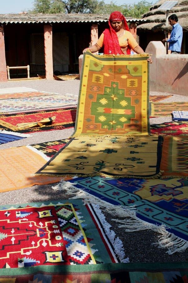 Demonstration of carpets