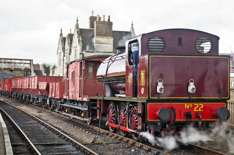 Demonstration industrial freight train