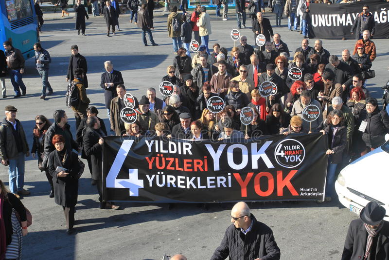 Demonstration on Journalist assasination