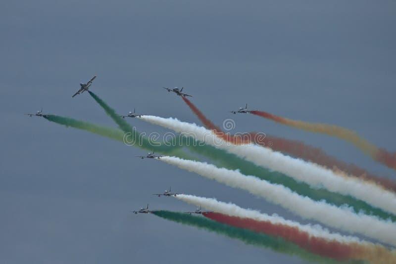 Download Demonstrative Performance Of Aerobatic Team Stock Photo - Image: 31509160